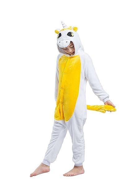 e82e5eb041 DarkCom Niños Pijama Enterizo Animal Cosplay Disfraces De Dibujos Animados  Mono Dormir  Amazon.es  Ropa y accesorios