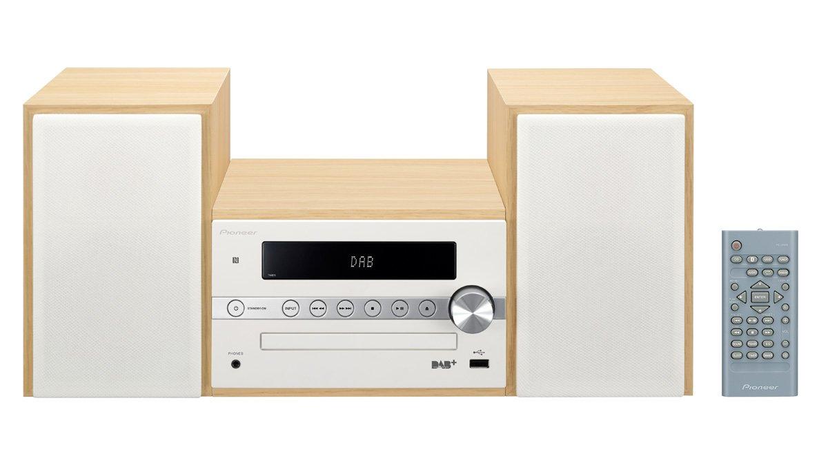 Pioneer X-CM56D-W Hi-Fi System with CD,DAB/DAB+/Bluetooth and USB – White