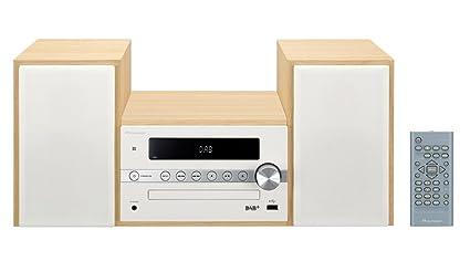 Pioneer X Cm56d Hifi Micro System Cd Player Lautsprecher Dab Ukw Radio Bluetooth Usb Mp3 2 X 15 Watt Kompaktanlage Fur Kuche Wohnzimmer