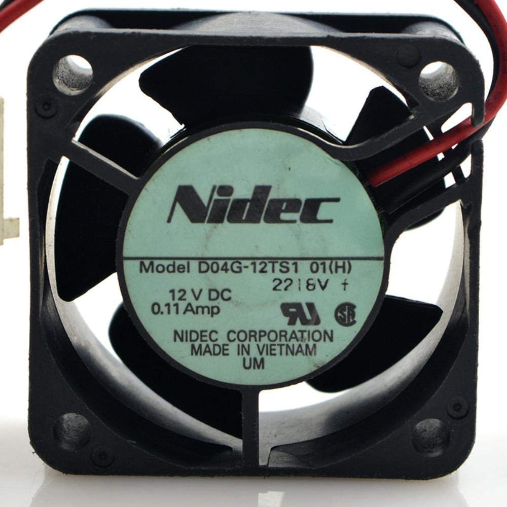 Japan for NIDEC D04G-12 TS1 12V 0.11A 4024 cm Mute Switch Cooling Fan