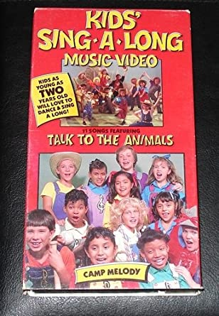Kids Sing A Long Camp Melody VHS
