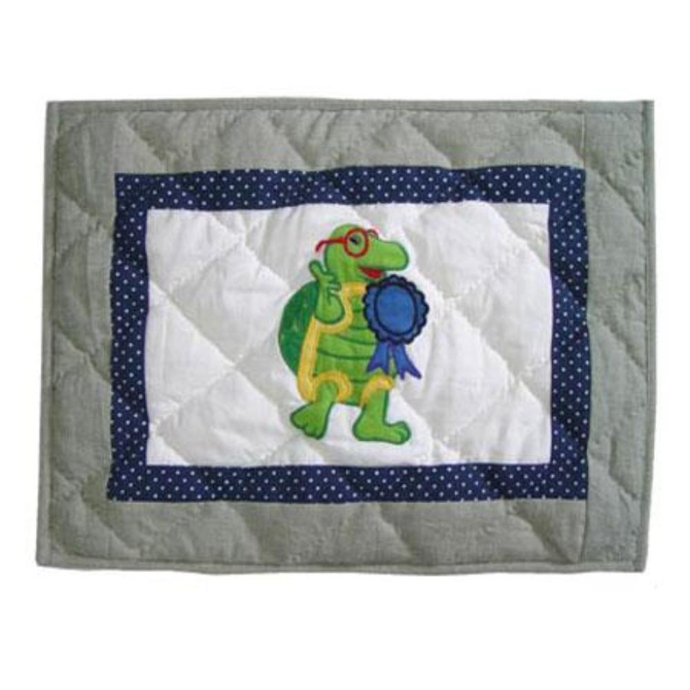 40,6/cm da 30,5/cm Patch Magic Green Scene Crib Toss Pillow Case
