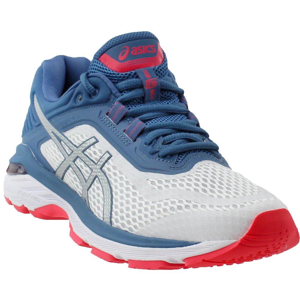 ASICS Women's GT-2000 6 Running Shoe B0783PZ143 9 M US|White/Azure