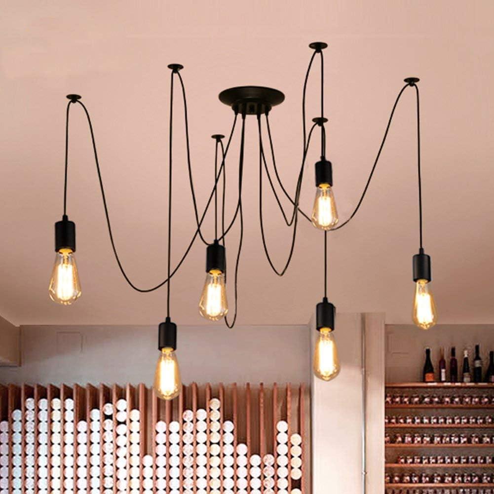Küche, Haushalt & Wohnen 7 lights Oursun Kronleuchter Industrie