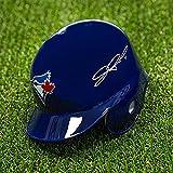 J.P. Arencibia Toronto Blue Jays Autographed Mini Baseball Helmet - Autographed MLB Mini Helmets