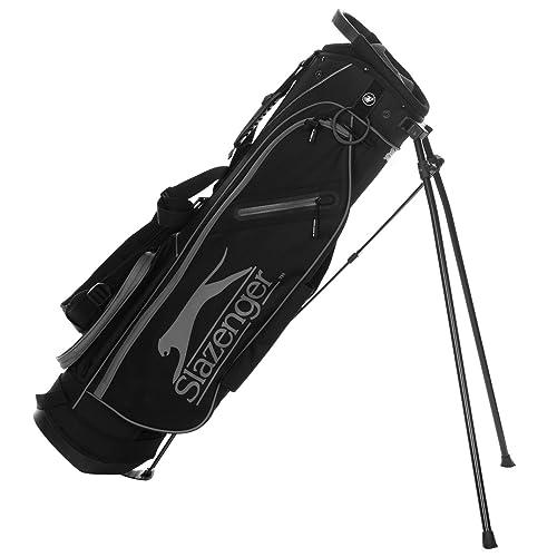 Slazenger Unisex Micro Bolsa de palos de golf Negro/Gris ...