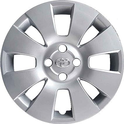 Juego de 4 tapacubos para llantas de Toyota Yaris con ruedas de 15 pulgadas (año