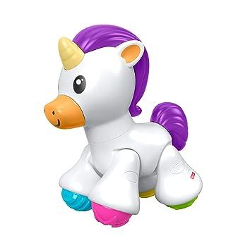 Mattel - Fisher-Price Unicornio Click Clack juguete de actividades ...