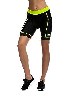 Gregster Pantalones Cortos de Ciclismo para Mujer – Pantalón ...