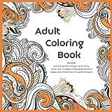 Adult Coloring Book Mandala - God has perfect