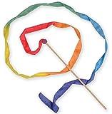 Sarah's Silks 9-Foot Long, Vibrant , Rainbow Silk Streamer