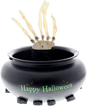 Animated Halloween Skull Candy Holder – WackyDecor