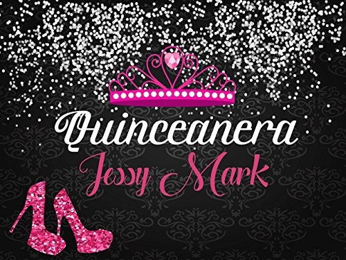 Custom Home Décor quinceanera banner - Size 24x36, 48x24, 48x36; Personalized Sweet 15, Sweet 16, Birthday, bachelorette, party decorations, Party Banner Wall Décor, Handmade Party Supply Poster Print