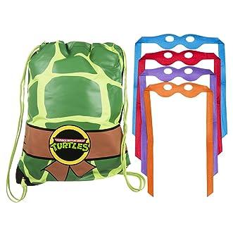 Retro Teenage Mutant Ninja Turtles bolsa con mscaras de ojo ...