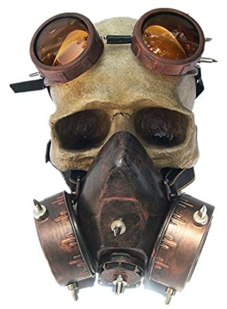 Shu li- Máscara de Gas para Hombre y Mujer, Diseño de Halloween