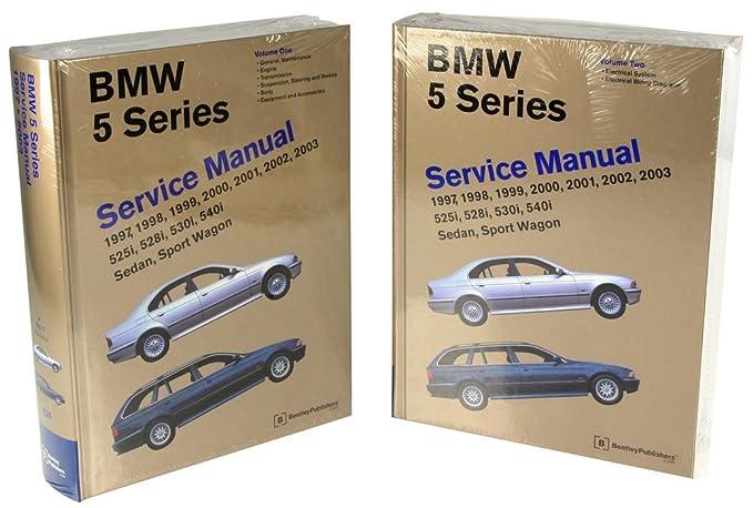 Amazon bentley paper repair manual bmw 5 series e39 automotive fandeluxe Images