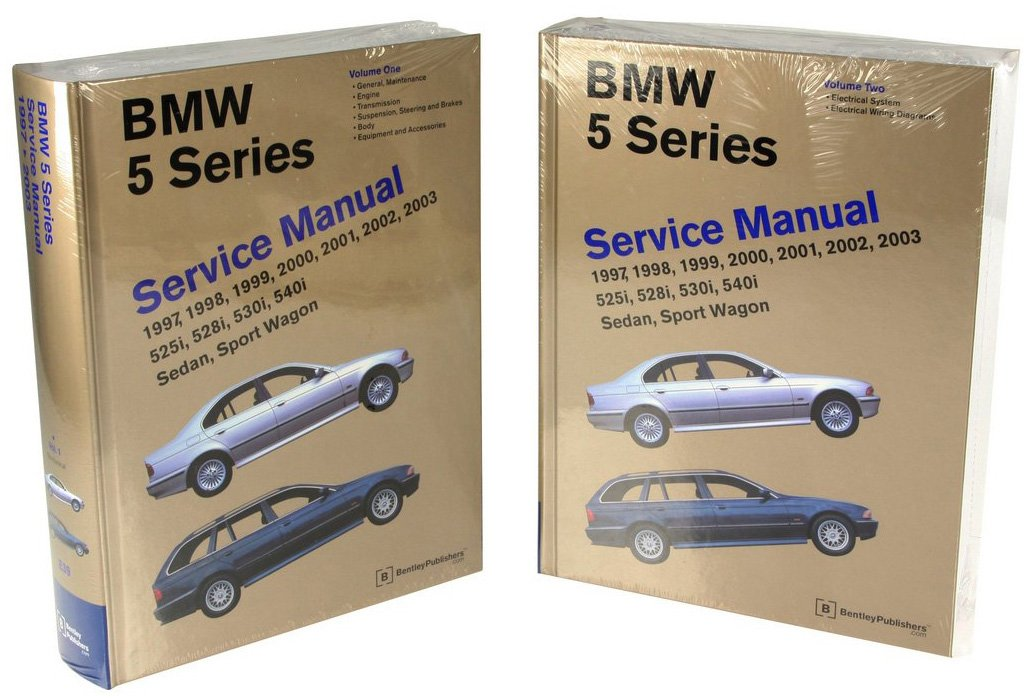 Bentley Paper Repair Manual BMW 5 Series (E39) by BENTLEY (Image #1)