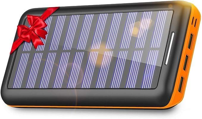 KEDRON 24000mAh Cargador Móvil Portátil Batería Externa con 3 ...