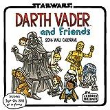 Darth Vader and Friends 2016 Wall Calendar