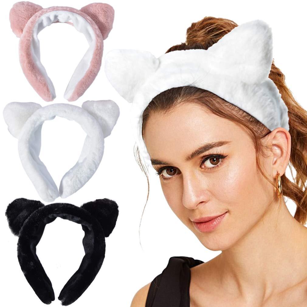 Ears Hairband Head Band Party Headdress Washing Hair Accessories Makeup Tool