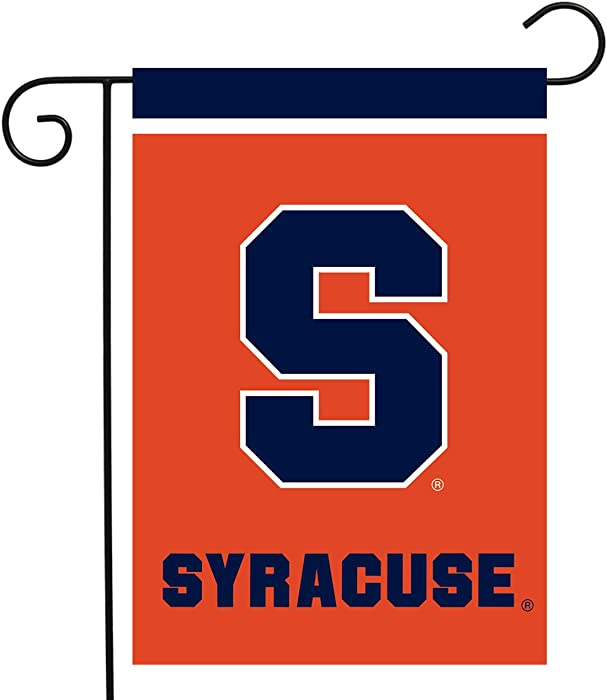 "Briarwood Lane Syracuse Orange Garden Flag NCAA Licensed 12.5"" x 18"""