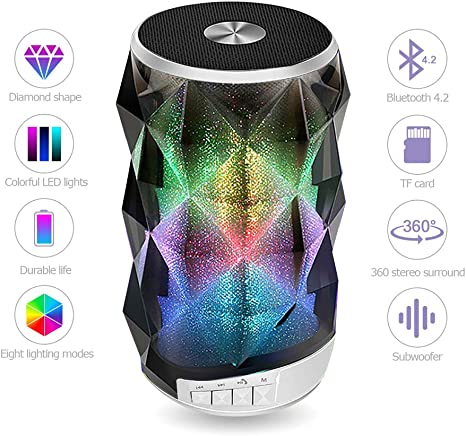 bluetooth Speaker Portable Super Bass Loud LED Wireless Subwoofer Stereo Gifts