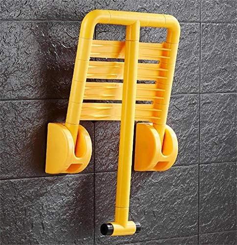 GUO Haushalt Rutschfester Duschhocker Duschhocker Faltbare Wand Bad Hocker Edelstahl Wand- Duschsitz Hocker for senioren Badezimmer Klapphocker Kreative multifunktionale Duschhocker