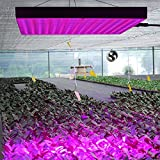 BLC 45W LED Grow Light Panel, Red Blue Hanging Light for Indoor Medical, Produce and Flowering Plants