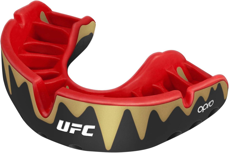 OPRO Protector bucal UFC ni/ños para MMA BJJ Karate y Otros Deportes de Combate Boxeo 18 Meses de garant/ía Dental /…