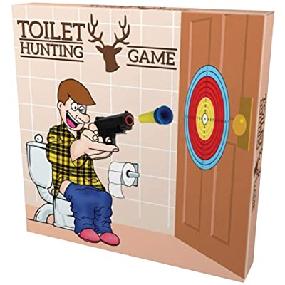 Island Dogs Toilet Hunting Game: Toys & Games