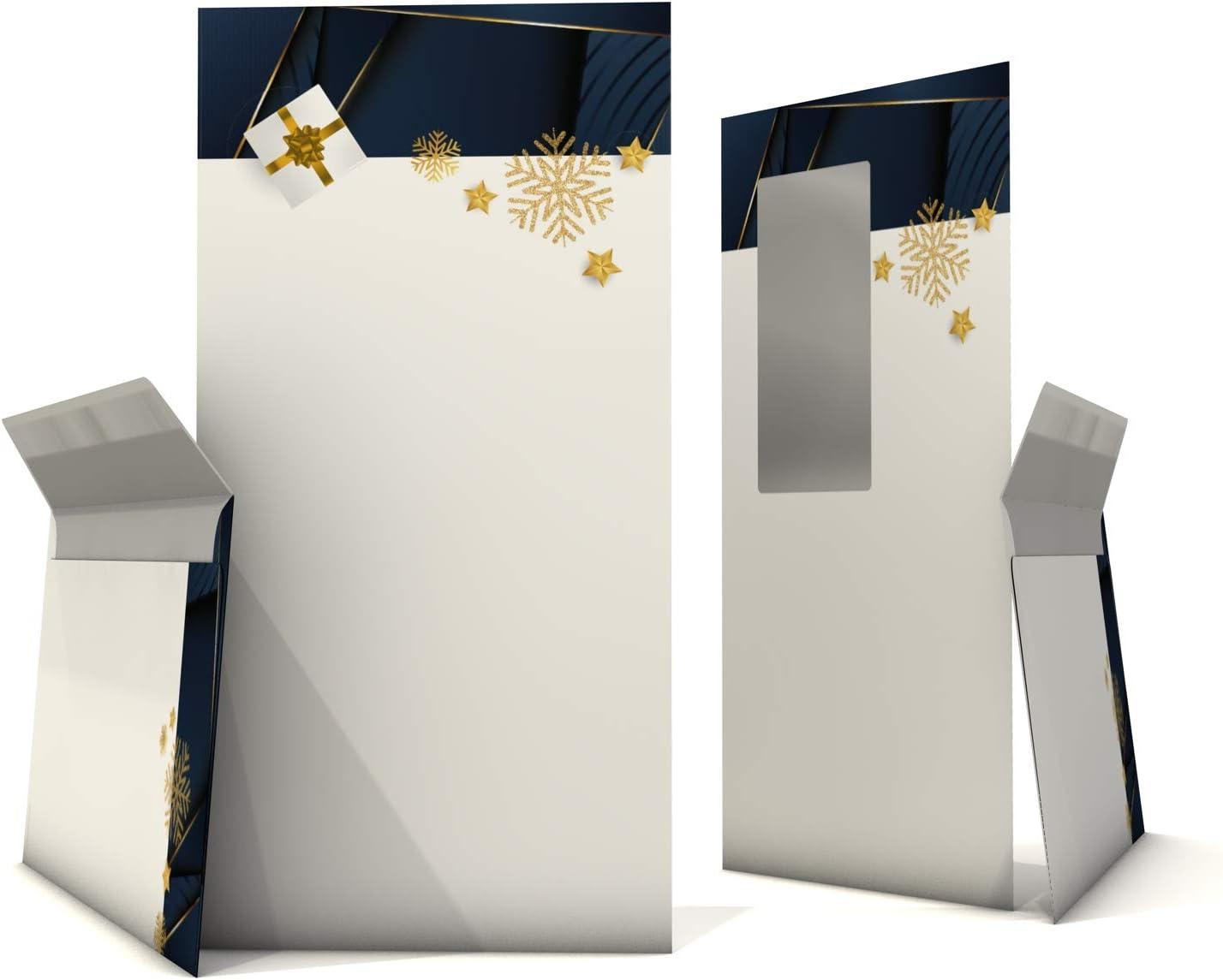 paperandpicture.de Elegance - Papel de carta con sobre para ventana (100 hojas y 100 sobres para ventanas): Amazon.es: Oficina y papelería
