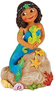 Studio M Merriment Collection Minature Statue , 3.25-Inches, Mermaid, Millie