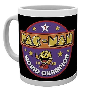 GB Eye LTD, Pacman, World Champion, Taza de Ceramica: Amazon ...