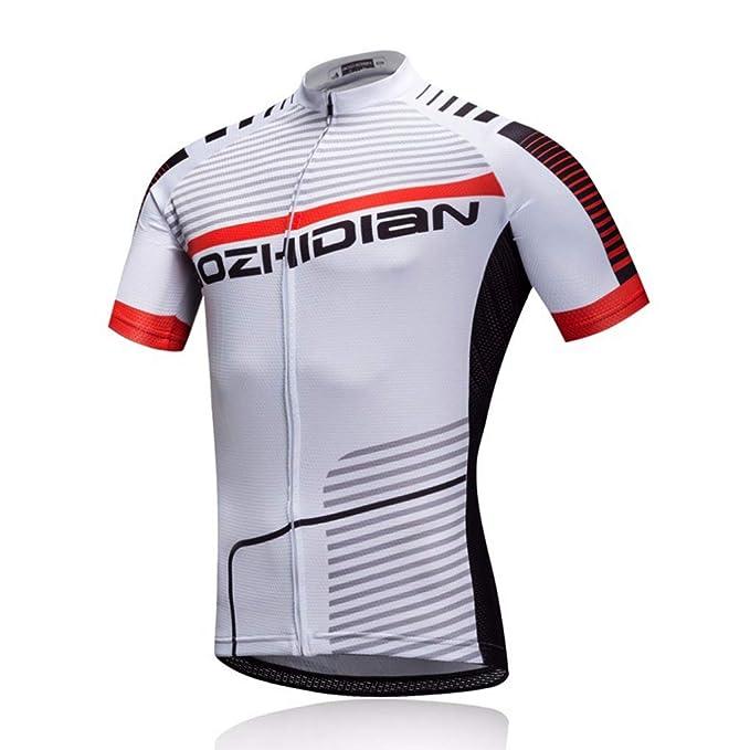 Amazon.com: Camiseta de ciclismo para hombre, de ciclismo ...
