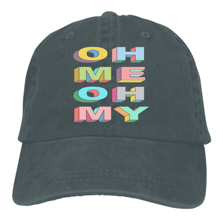 Oh Me Adjustable Cowboy Cap Denim Hat for Women and Men