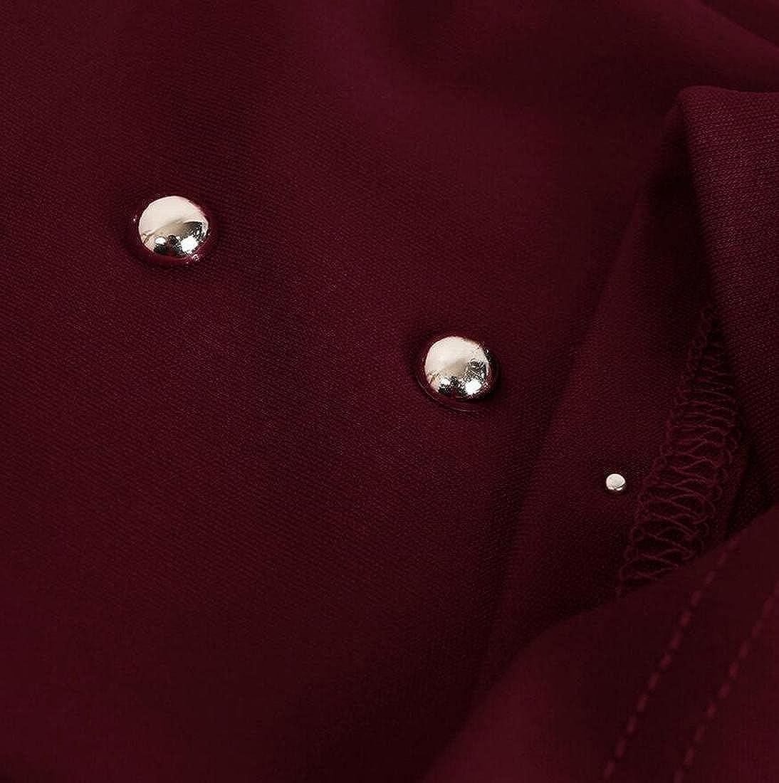 Zantt Womens Cami Shirt Crop Top Beading Leotard Pant Clubwear 2pcs Sets