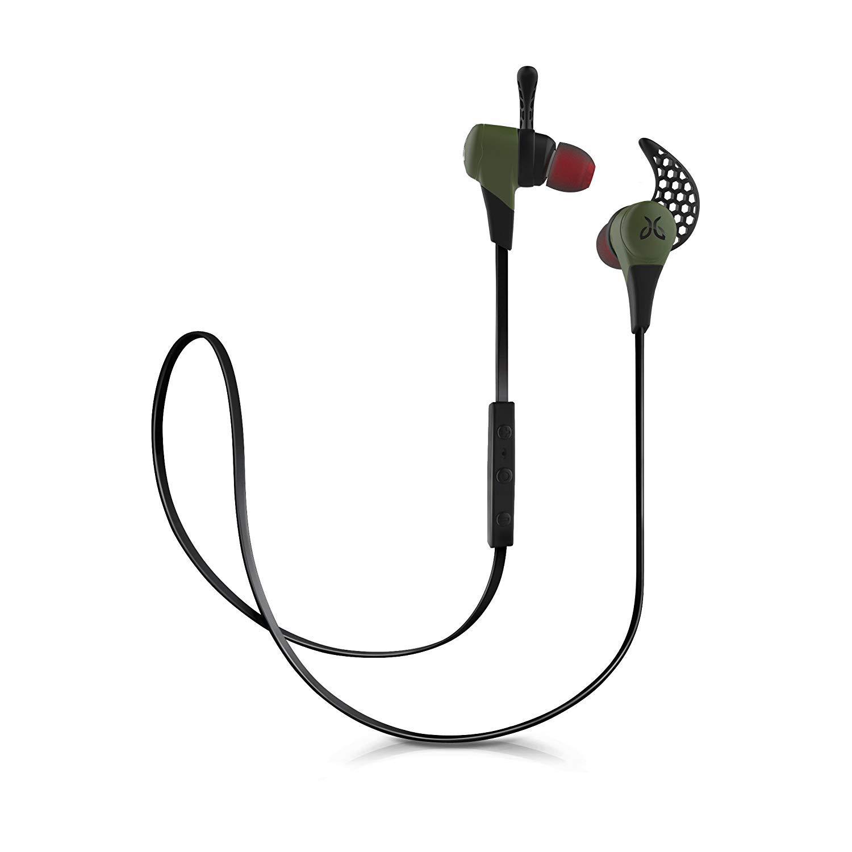 JayBird X2 Sport Bluetooth Wireless in-Ear Headphone Earbuds with Carrying Pouch - Green (Renewed)