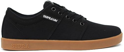 Supra TK - Zapatillas de Patinaje para Hombre, Negro (Negro (Black Canvas)), 9 D(M) US: Amazon.es: Zapatos y complementos