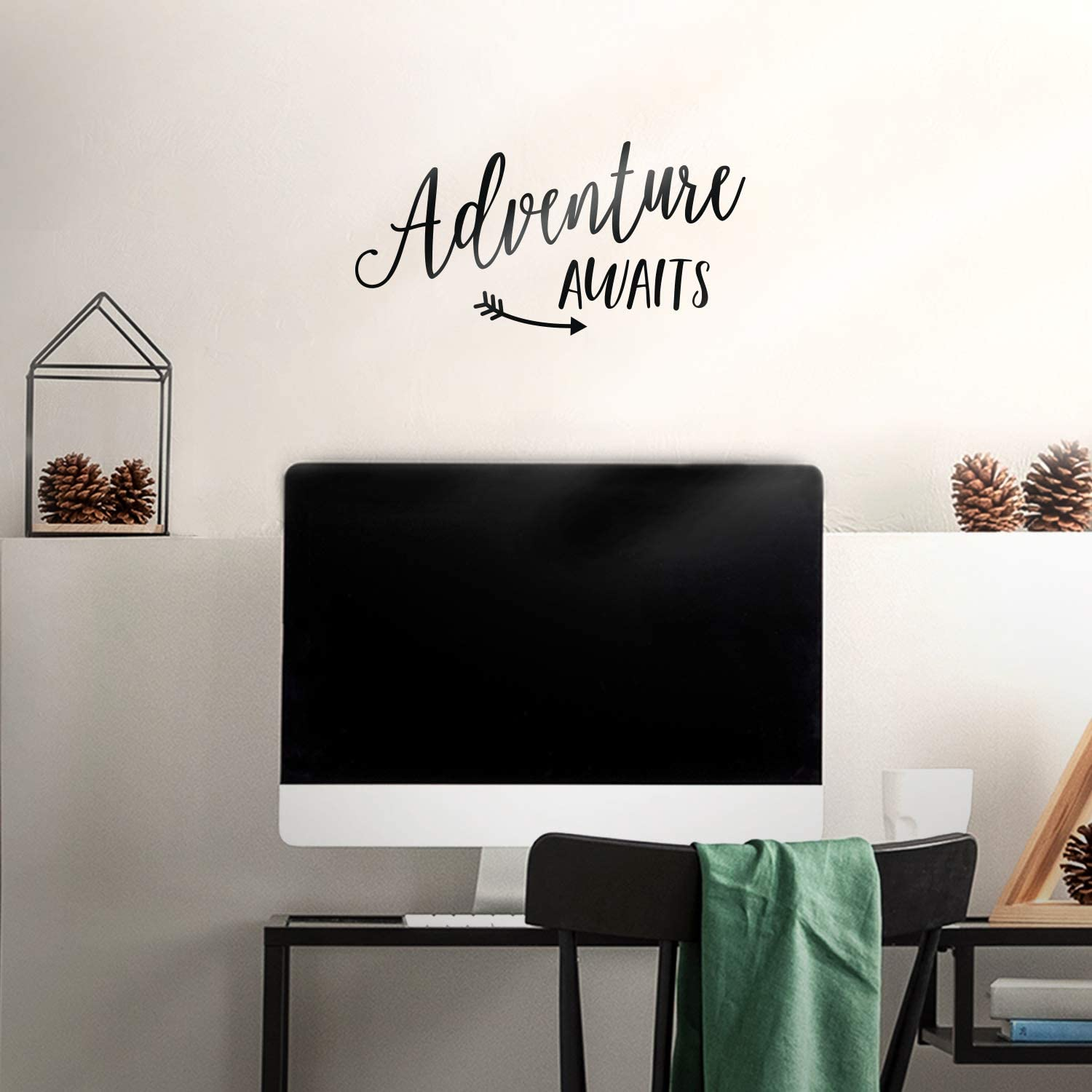 Vinyl Wall Art Decal - Adventure Awaits - 7