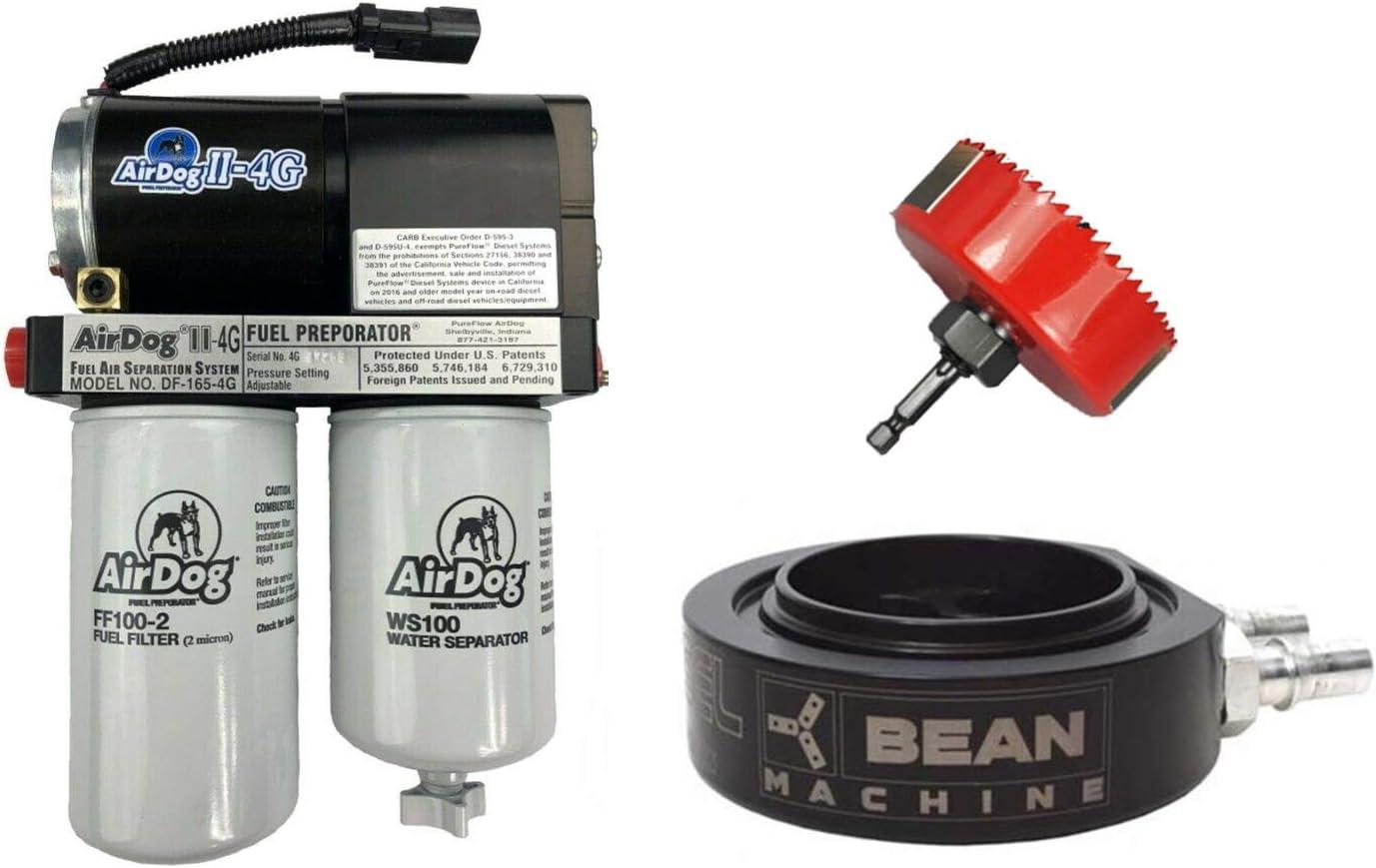 2005 dodge ram fuel filter amazon com airdog ii 4g 165 gph fuel lift pump   bean machine  airdog ii 4g 165 gph fuel lift pump