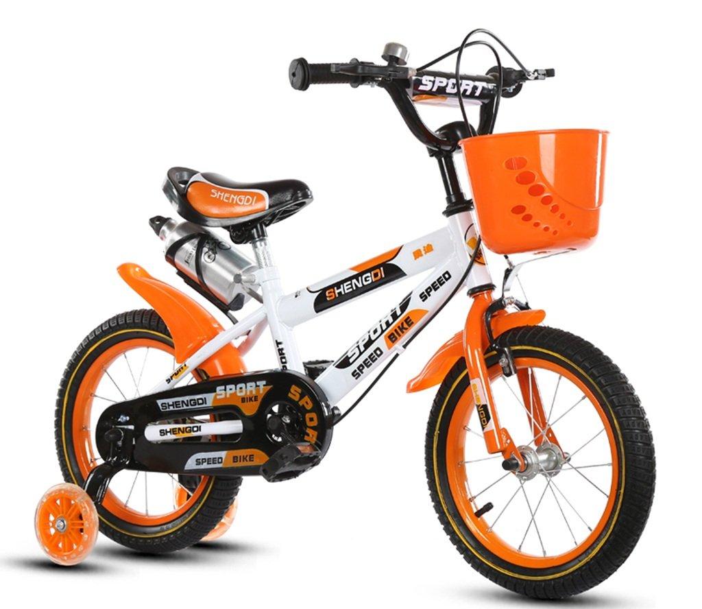 QFF 軽量自転車、男の子、女の子自転車自転車小児用パーソナル自転車2-10歳の赤ちゃん補助ホイール自転車88-121CM ZRJ (色 : A, サイズ さいず : 100CM) B07DNXR5RP 100CM|A A 100CM