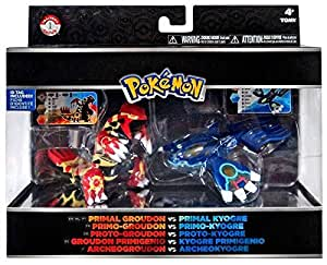 Amazon Com Pokemon Primal Trainer S Choice 2 Figure Set