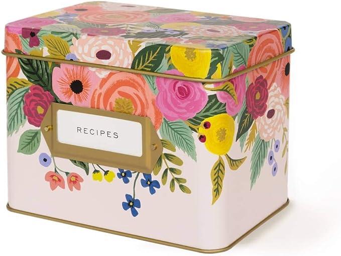 Rifle Paper Co Juliet Rose - Caja de recetas: Amazon.es: Hogar
