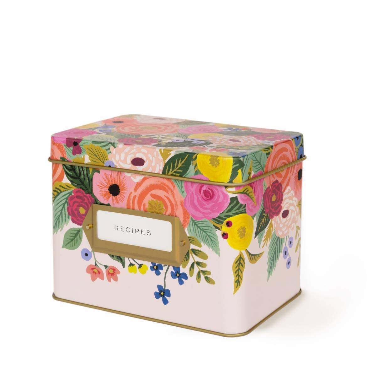 Rifle Paper Co Recipe Box Juliet Rose by Rifle