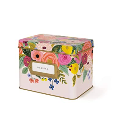 Rifle Paper Co Recipe Box Juliet Rose