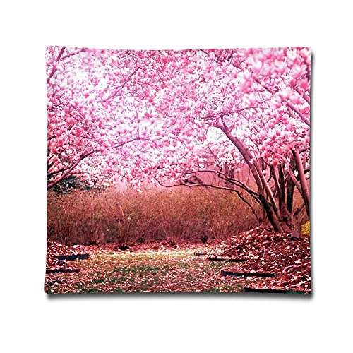 Phyllis Walker Pillow Shams Awesome Cherry Blossom Park Square Throw Pillow Case Cotton Decorative Pillowcase Cushion Cover For Sofa Bedroom 18