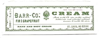 product image for Barr Co Fir & Grapefruit Hand and Body Cream