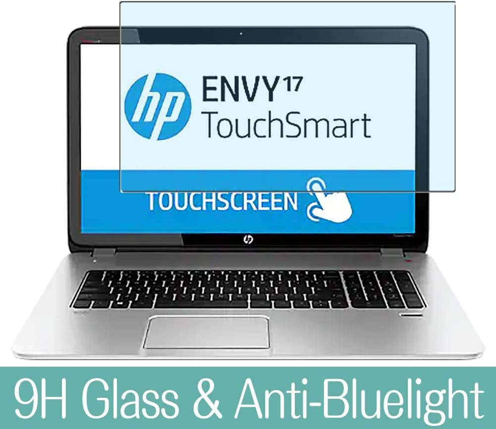 "Synvy Anti Blue Light Tempered Glass Screen Protector for HP Envy TouchSmart 17-j000 / j017cl / j023cl / j043cl / j030us / j005ea / j037cl / j075sf / j098sf / j041nr 17.3"" Visible Area"