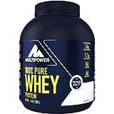 Multipower 100% Pure Whey, Complesso di proteine del siero del latte, gusto naturale, 2Kg