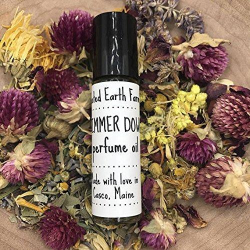 Simmer Down Perfume Oil Roll On Cedarwood Clary Sage Unisex Fragrance
